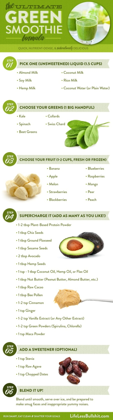 How to make a fantastic green smoothie