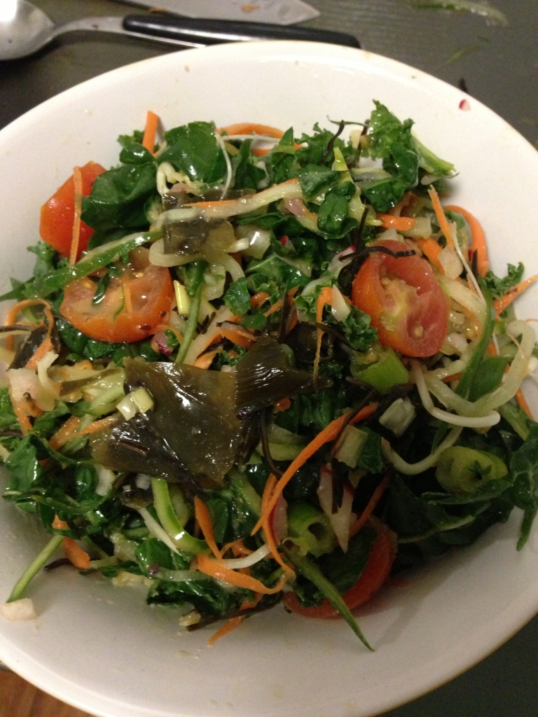 Asian Inspired Seaweed Salad