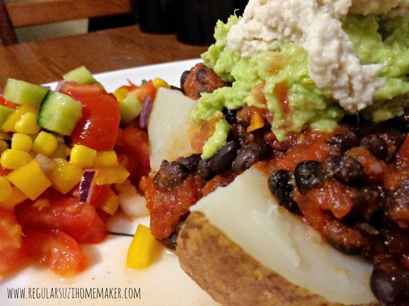 Mexican Baked Potato